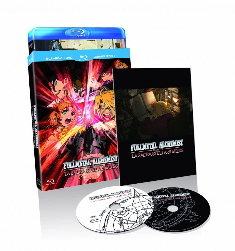 Fullmetal Alchemist The Movie - La Sacra Stella Di Milos (Blu-Ray+Dvd)