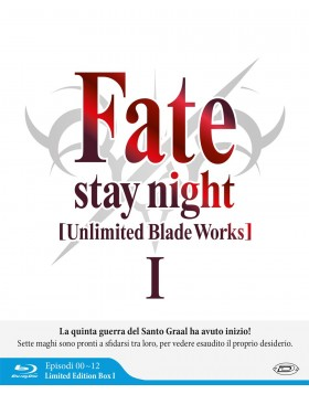 Fate/Stay Night - Unlimited Blade Works - Stagione 01 (Eps 00-12) (3 Blu-Ray) (Limited Edition Box)