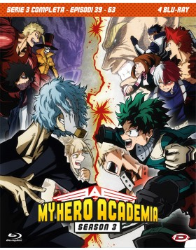 My Hero Academia - Stagione 03 The Complete Series (Eps 39-63) (4 Blu-Ray)