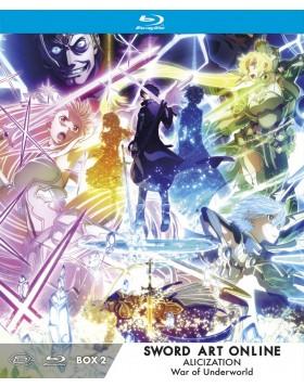 Sword Art Online Alicization War Of Underworld - Ltd Box #02 (Eps 13-23) (3 Blu-Ray)