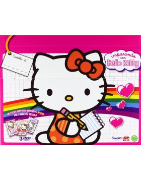 Hello Kitty - Imparando Con Hello Kitty - Cartella Box (3 Dvd)