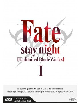 Fate/Stay Night - Unlimited Blade Works - Stagione 01 (Eps 00-12) (3 Dvd) (Limited Edition Box)