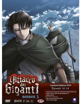 Attacco Dei Giganti (L') - Stagione 03 Box #02 (Eps 13-22) (2 Dvd) (Ltd Edition)