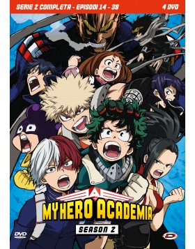 My Hero Academia - Stagione 02 The Complete Series (Eps 14-38) (4 Dvd)
