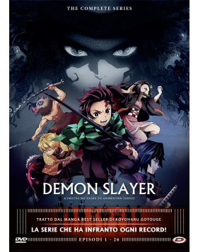Demon Slayer - The Complete Series (Eps 01-26) (4 Dvd)