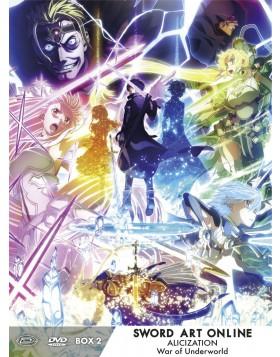 Sword Art Online Alicization War Of Underworld - Ltd Box #02 (Eps 13-23) (3 Dvd)